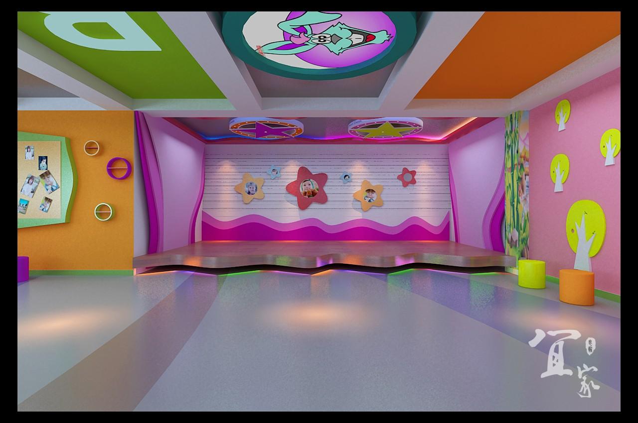 休宁幼儿园舞蹈室 现代风格图片