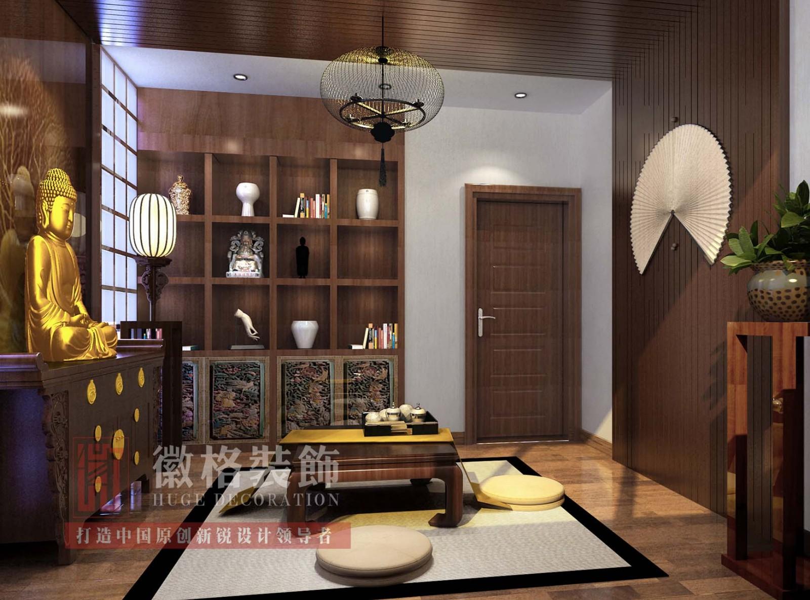 太平玉河花园 别墅 新中式 - 徽格装饰原创新锐设计