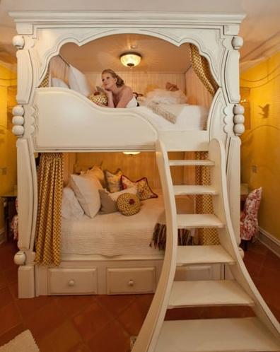 创意十足高低床设计