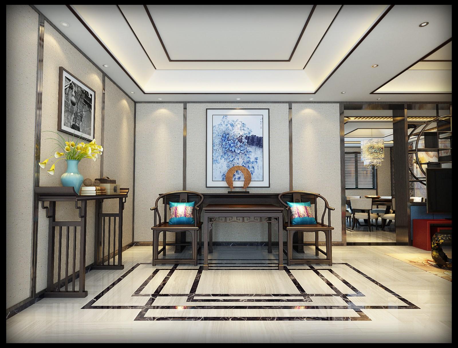 自建房 现代中式风格