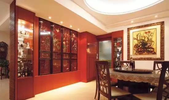 餐厅隔断酒柜效果图,时尚个性的家你可以拥有