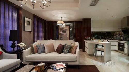 新古典风格设计,时尚温馨的生活氛围
