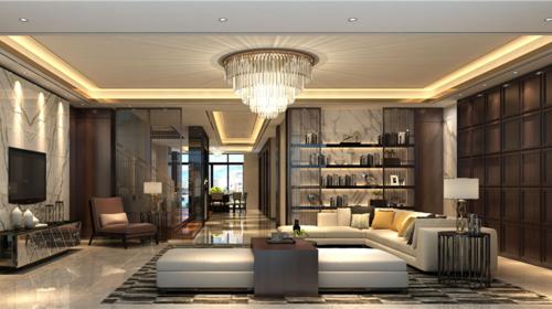 中式生活美学-一间客厅