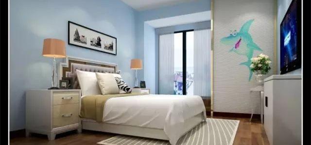 现代简约三居室,简单实用,没有过多的装饰