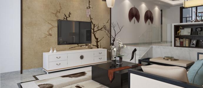 别致中式风格三室,透着清韵,气质不凡!