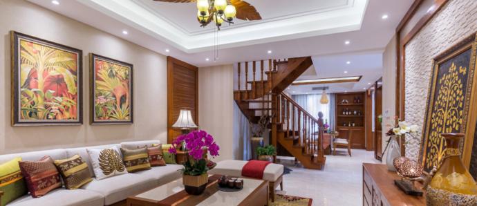 东南亚风格,低调中的奢华!