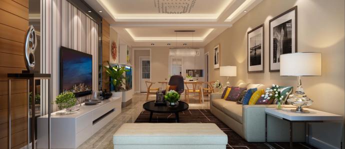 你家要现代风格,客厅就该这样装!